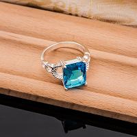 Отдается в дар Новое серебряное кольцо 18 размер