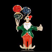 Отдается в дар Брошь «Клоун».