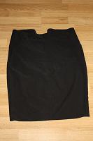 Отдается в дар классическая черная юбка 48р