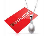 Отдается в дар Серебряная подвеска Sunlight в подарок