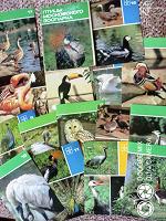 Отдается в дар Птицы Московского зоопарка-набор