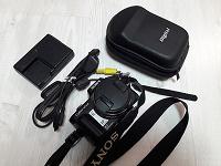 Отдается в дар Фотоаппарат Sony Caber-shot dsc-h100