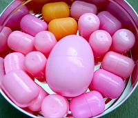 Отдается в дар Пластмассовые яйца
