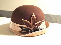 Отдается в дар Шляпка коричневая