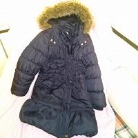Отдается в дар Пальто утепленное для девочки р.122