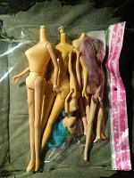 Отдается в дар Лом кукол