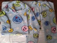 Отдается в дар Тёплая пижама для ребёнка 8-12 лет.
