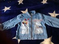 Отдается в дар Джинсовая курточка 2-5 лет.