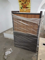 Отдается в дар Офисная мебель (столы, тумбы, полки, стеллажи)