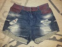 Отдается в дар Шорты джинсовые Bershka