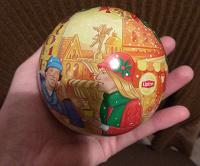 Отдается в дар Жестяной шар от Липтон