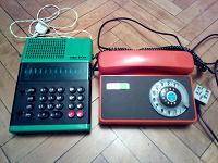 Отдается в дар Телефон и счётная машинка