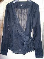 Отдается в дар Блуза с бантом H&M