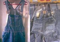 Отдается в дар комбинезон джинсовый
