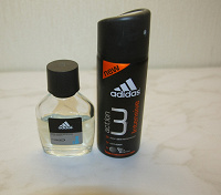 Отдается в дар парфюм и дезодорант «Adidas»