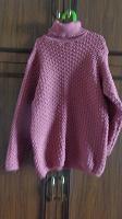 Отдается в дар Новый розовый свитер под ретро-стиль, рос.44-48