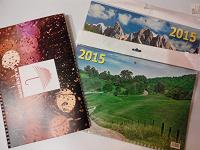 Отдается в дар Календари квартальные на 2015 год