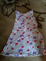 Отдается в дар Летнее платье для дома, дачи на 3-4 года