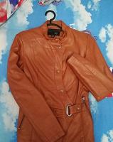 Отдается в дар Женская кожаная курточка