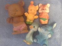 Отдается в дар Резиновые игрушки из СССР
