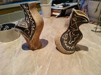 Отдается в дар Керамические вазочки