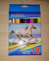 Отдается в дар Цветные карандаши Fauna
