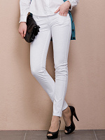 Отдается в дар брюки белые в обтяжку
