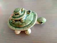 Отдается в дар Черепашка керамика