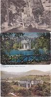 Отдается в дар три антикварные открытки