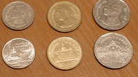 Отдается в дар зарубежные монеты