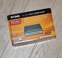 Отдается в дар ADSL-модем D-Link