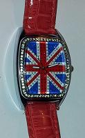 Отдается в дар Часы с британским флагом