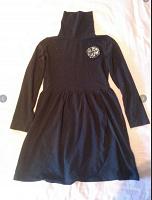 Отдается в дар Платье черное на девочку 7-8 лет