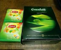 Отдается в дар Зелёный чай в пакетиках