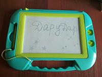 Отдается в дар Игрушка- планшет для рисования