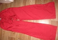 Отдается в дар красные спортивные штаны