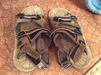 Отдается в дар Детская летняя обувь на мальчика