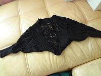 Отдается в дар черное вязаное болеро