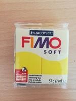 Отдается в дар Кусок полимерной глины Fimo