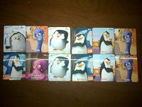 Отдается в дар Карточки с пингвинами(Магнит)