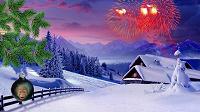 Отдается в дар Открытка к Новому году