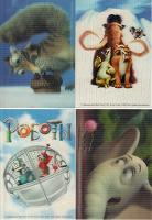 Отдается в дар стерео открытки