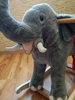 Отдается в дар Слон- качалка…