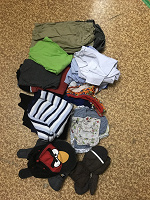 Отдается в дар Пакетик одежды для мальчика 6-8 лет