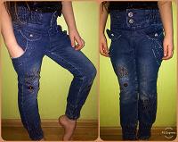 Отдается в дар Тёплые джинсы для девочки