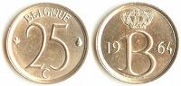 Отдается в дар 25 сантимов 1968