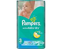 Отдается в дар Памперсы Pampers Active Baby №3