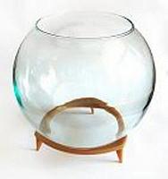Отдается в дар Круглый аквариум