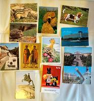 Отдается в дар Открытки и наборы открыток старые