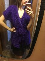 Отдается в дар Фиолетовая кофта